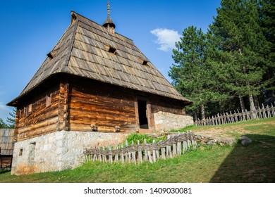 house in Ethnic village in Serbia, Sirogojno