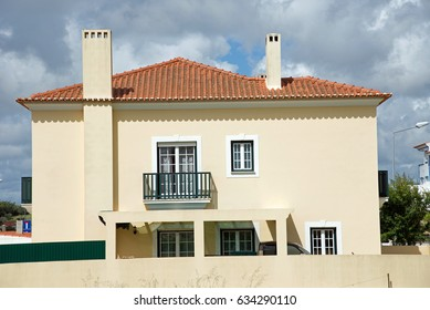 House facades in Portugal
