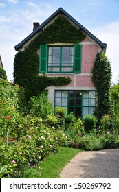 House of the famous painter Claude Monet in Giverny, France