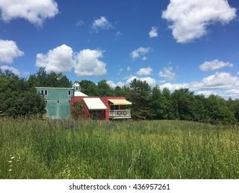 House in a Field