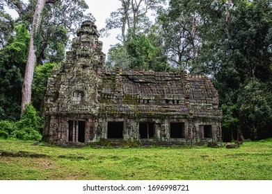 House of fire, Preah Khan temple Angkor Cambodia