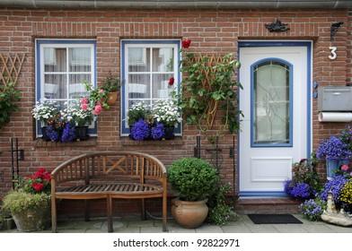 House in Friedrichstadt, Germany