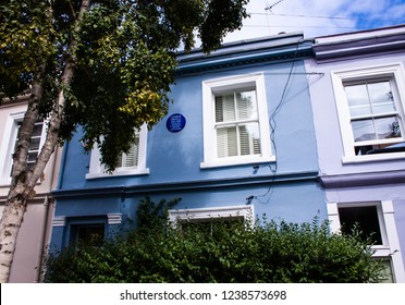 The house of George Orwell in UK, London, Notting Hill, 08/20/2018