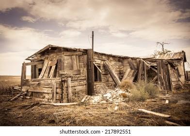 House Ghost Town, Colorado, USA