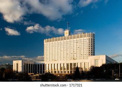 House of government to Russia Federations in Moscow (White house)