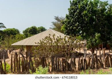 House in Guinea Bissau, western Africa