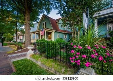 House in the historic Fourth Ward of Charlotte, North Carolina.