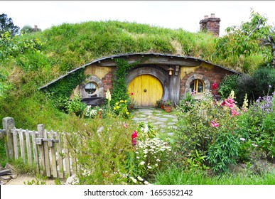 House of the hobbitons in New Zeland