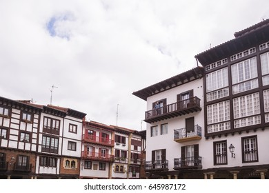 House in hondarribia in spain
