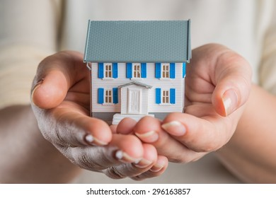 House, Human Hand, Hands Cupped.