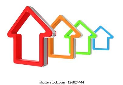 house icon. real estate