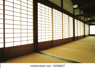 House of Imperial guard Zuisinin-temple Kyoto Japan