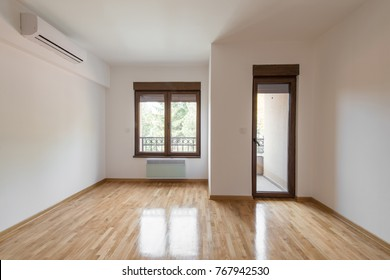 House interior with empty room