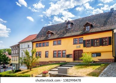 House of Johann Sebastian Bach in Eisenach, Germany