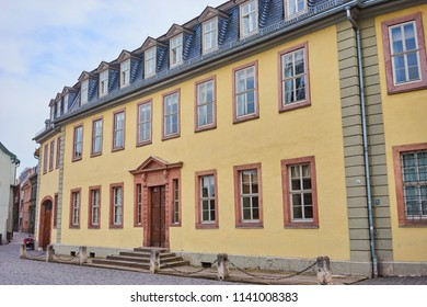 House of Johann Wolfgang von Goethe in the city of Weimar in Germany