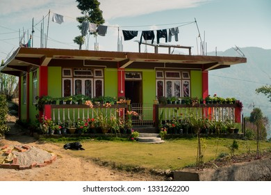 A house in Kalimpong city in India
