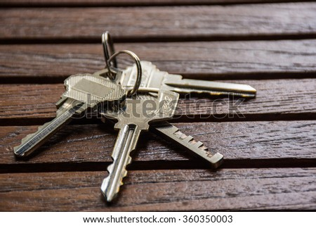 House, Key, House Key. Chain Keys