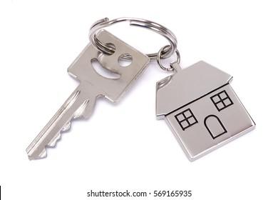 house key on keyring