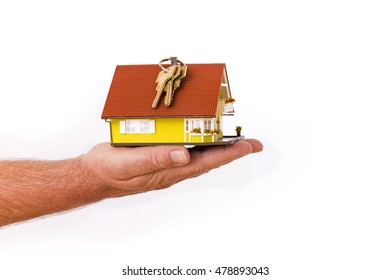 House and keys will be handed