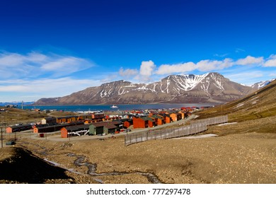 House in Longyearbyen, Svalbard, Norway