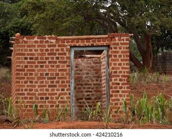 house made of bricks