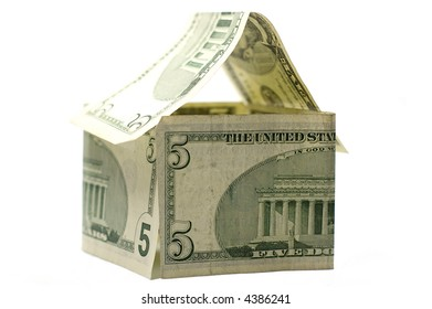 House made of Dollars