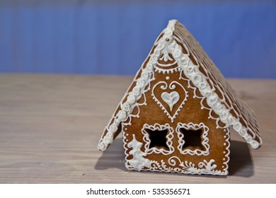 House made from flour and sugar
