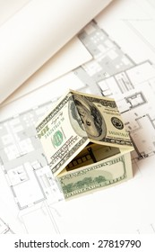 house made of money on the blueprint