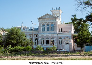 The house of the merchant M. A. Shelekhov on the Red enbankment, Astrakhan, Russian Federation