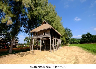 House model farmers living in the past.