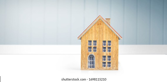 House Model  there space.Housing and Real Estate concept