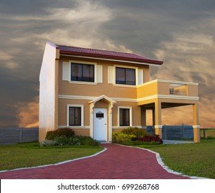 A house modeled from Italian style