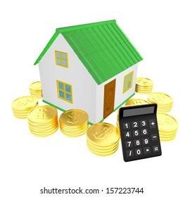 House money & calculator