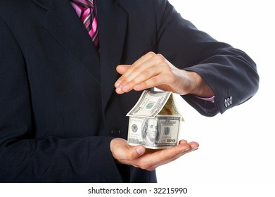 The house money in human hands