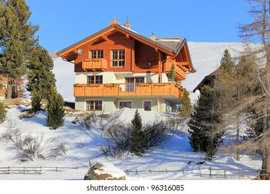 House in the mountain
