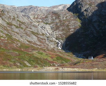 House near Elerslie Harbour / Fox Harbour, Southwest Greenland