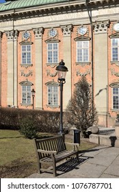 House of Nobility - Riddarhuset (fragment). Palace was built in 1641-1674 in Baroque style. Stockholm, Sweden