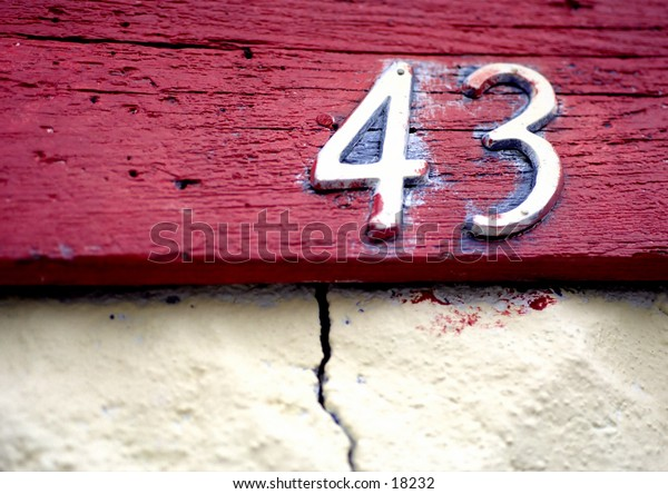 house number 43