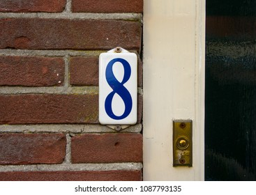 House number eight (8).