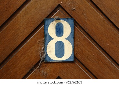 House number eight (8)