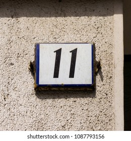 House number eleven (11)