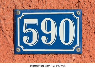 House Number Five Hundred Ninety - 590
