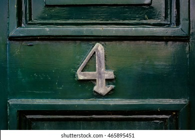 House number four (4)