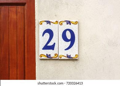 House number nine (29).