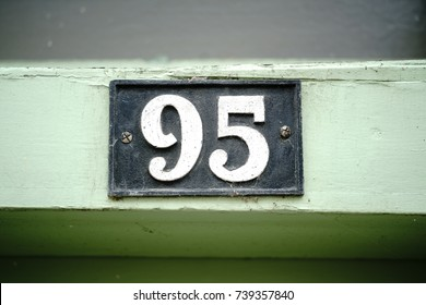 House number ninety five (95)