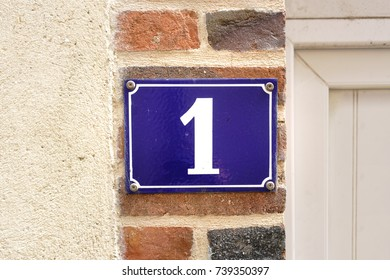 House number one (1)