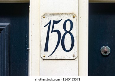 House number one hundred and fifty eight (158)