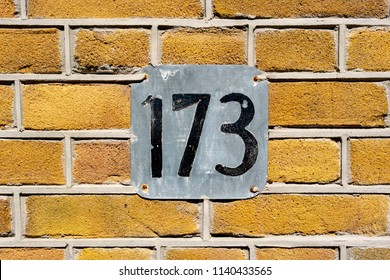 House number one hundred and seventy three (173)