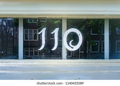 House number one hundred and ten (110)