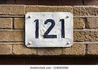 House number one hundred and twenty one (121)